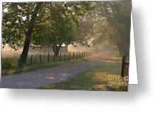 Alabama Country Road Greeting Card by Don F  Bradford