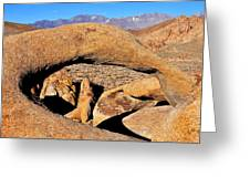 Alabama Hills Arches Greeting Card