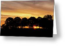 Alabama Sunrise Greeting Card