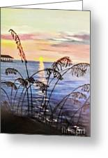 Alabama Sunset Greeting Card