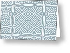 Alahambra Blue Greeting Card
