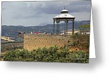 Alameda De Jose Antonio In Ronda Spain Greeting Card