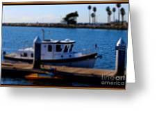 Alamitos Bay Long Beach Greeting Card