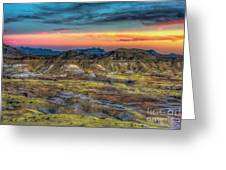 Alamo Creek Sunset Greeting Card