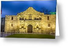 Alamo Dawn Greeting Card
