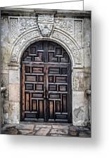 Alamo Doors Greeting Card