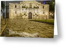 Alamo Reflection Greeting Card