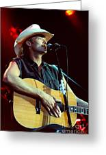 Alan Jackson-0766 Greeting Card