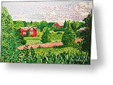 Aland Landscape Greeting Card
