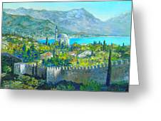 Alanya Turkey Greeting Card