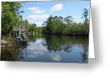 Alaqua Creek Greeting Card