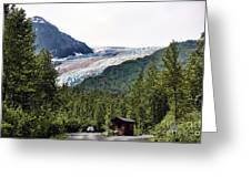 Alaska Glacier B Greeting Card