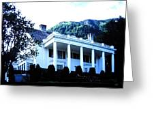 Alaska Governors Mansion Greeting Card