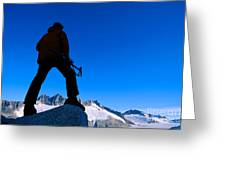 Alaska, Juneau Greeting Card by John Hyde - Printscapes
