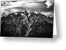 Alaska Mountain Range Greeting Card