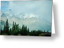 Alaska Range 2 Greeting Card