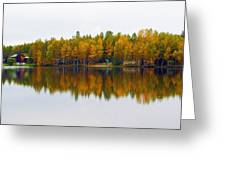 Alaska Reflection Greeting Card
