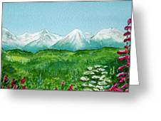 Alaska Splendor Greeting Card
