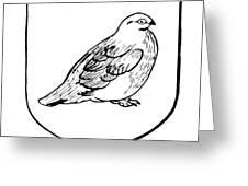 Alaska: State Bird Greeting Card