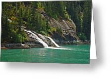 Alaska Tracy Arm Greeting Card