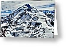 Alaska Volcano Greeting Card