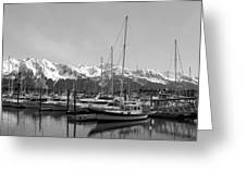 Alaskan Harbor Greeting Card