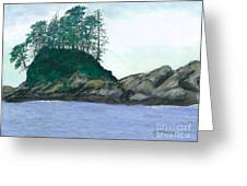Alaskan Islet Greeting Card