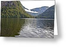 Alaskan Lake Greeting Card