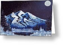 Alaskan Night Greeting Card