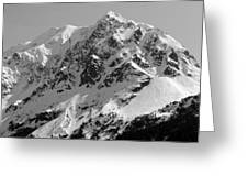 Alaskan Peak Greeting Card