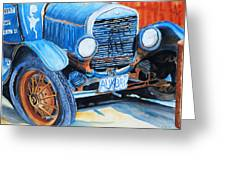 Alaskan Rust II - Model T '27 Greeting Card