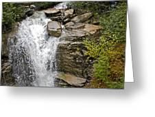 Alaskan Water Fall Greeting Card