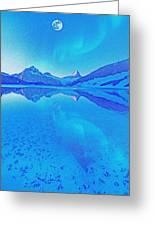 Alaskan Winter Night By Adam Asar 3 Greeting Card