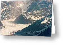 Alasks Glacier Range Denali Nation Park  Greeting Card