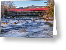 Albany Covered Bridge-white Mountains Of New Hampshire Greeting Card