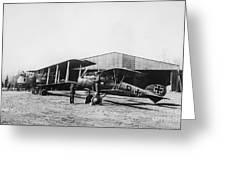 Albatros And Gotha Greeting Card