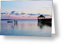 Outer Banks,nc,sunset Greeting Card