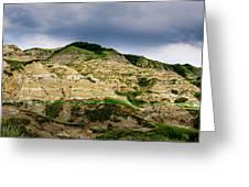Alberta Badlands Greeting Card
