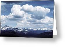 Alberta Mountain Panorama Greeting Card