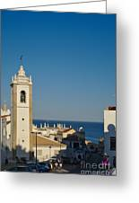 Albufeira Streets Greeting Card