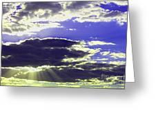 Albuquerque Sky Greeting Card