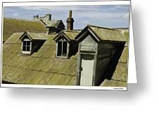 Alcaltraz Roofline Greeting Card