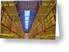 Alcatraz Federal Penitentiary Greeting Card
