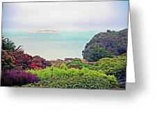 Alcatraz Island Prison In San Francisco California Greeting Card