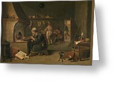 Alchemist Greeting Card