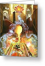 Alchemy Greeting Card by Anne Cameron Cutri
