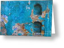 Alcoves In A Wall Greeting Card