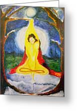 Alder Meditation Greeting Card