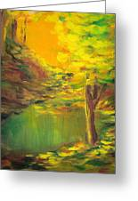 Aldergrove Lake Greeting Card