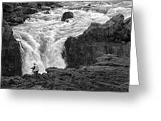 Aldeyjarfoss Waterfall Iceland 3381 Greeting Card